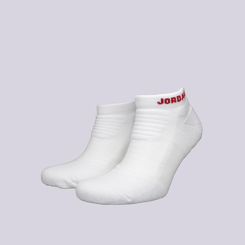 Носки Jordan Flight 2.0 Ankle SockНоски<br>Полиэстер, нейлон, хлопок<br><br>Цвет: Белый<br>Размеры US: L;XL<br>Пол: Мужской