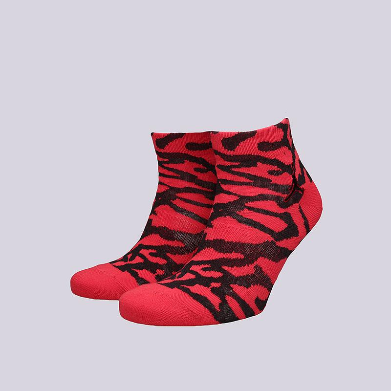 Носки Jordan Elephant Quarter SocksНоски<br>Хлопок, нейлон, эластан<br><br>Цвет: Красный<br>Размеры US: M;L;XL<br>Пол: Мужской