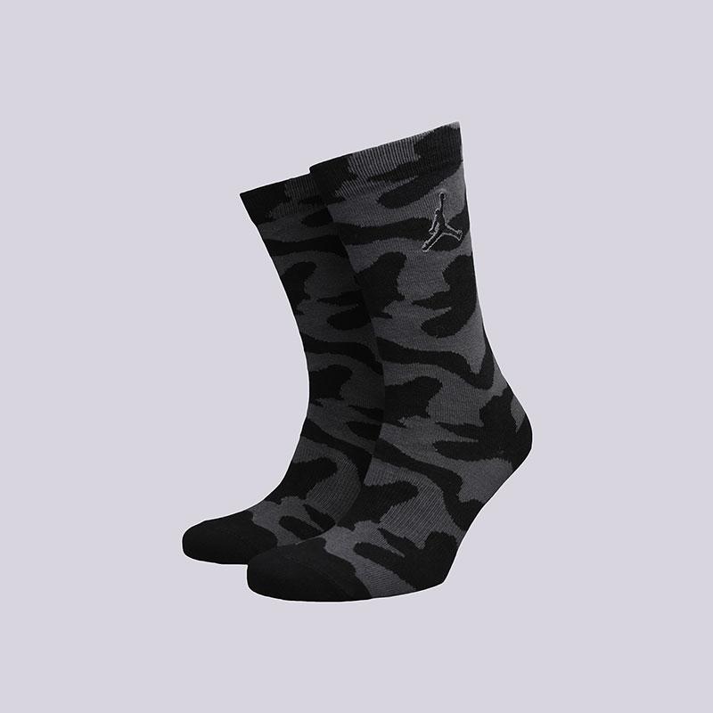 Носки Jordan P51 CrewНоски<br>Хлопок, нейлон, эластан<br><br>Цвет: Черный<br>Размеры US: M;L;XL<br>Пол: Мужской