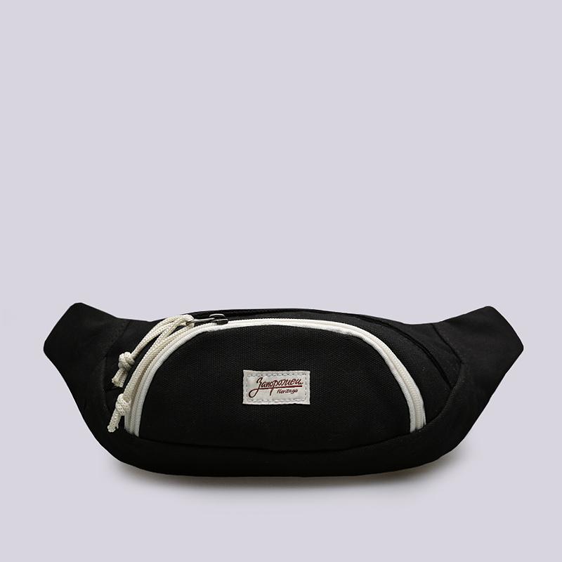 Сумка на пояс Запорожец heritage Small Waist BagСумки, рюкзаки<br>Хлопок<br><br>Цвет: Черный<br>Размеры : OS