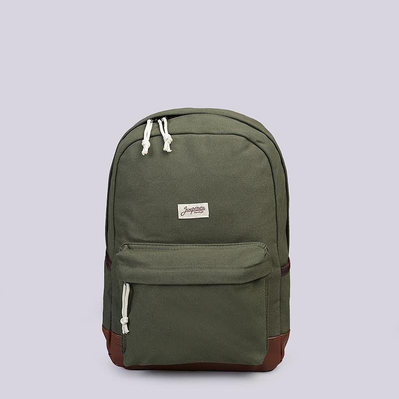 Рюкзак Запорожец heritage Small Daypack 15LСумки, рюкзаки<br>Хлопок<br><br>Цвет: Зеленый, коричневый<br>Размеры : OS
