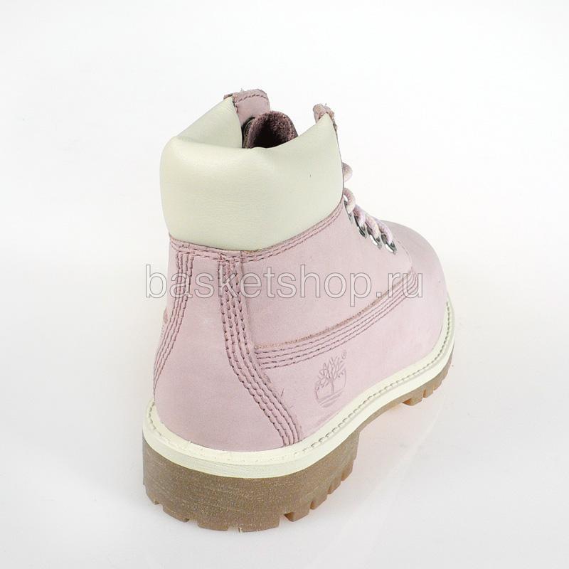 Купить детские розовые  ботинки детские в магазинах Streetball изображение - 2 картинки