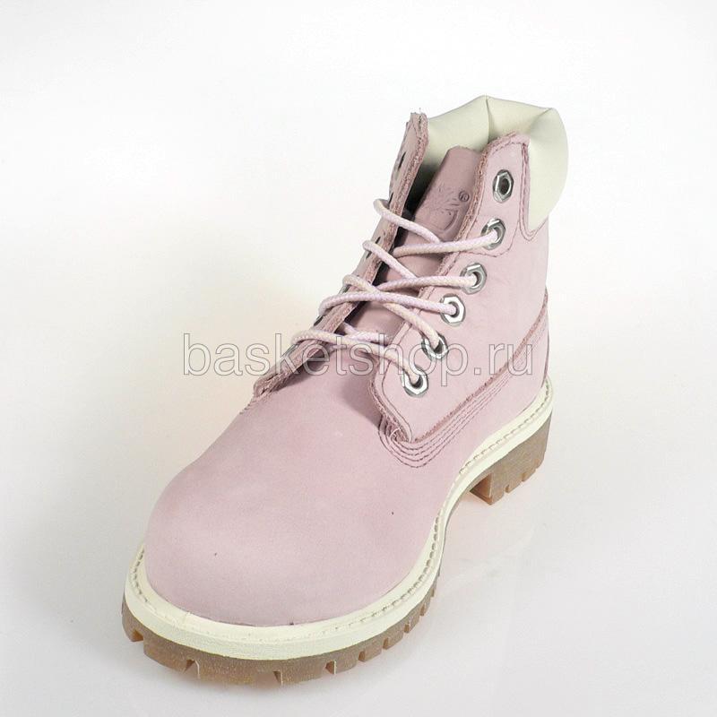 Купить детские розовые  ботинки детские в магазинах Streetball изображение - 4 картинки
