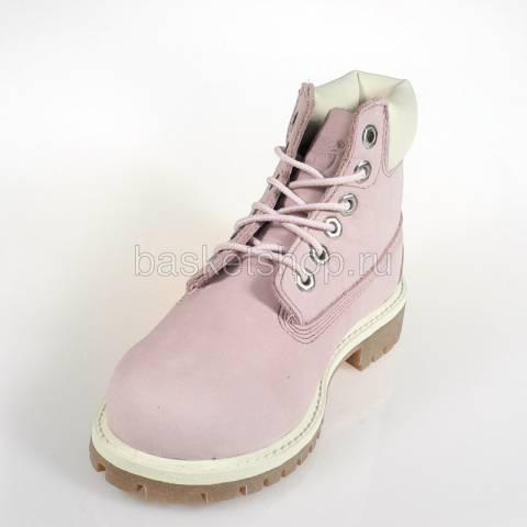 Купить детские розовые  ботинки детские в магазинах Streetball - изображение 4 картинки