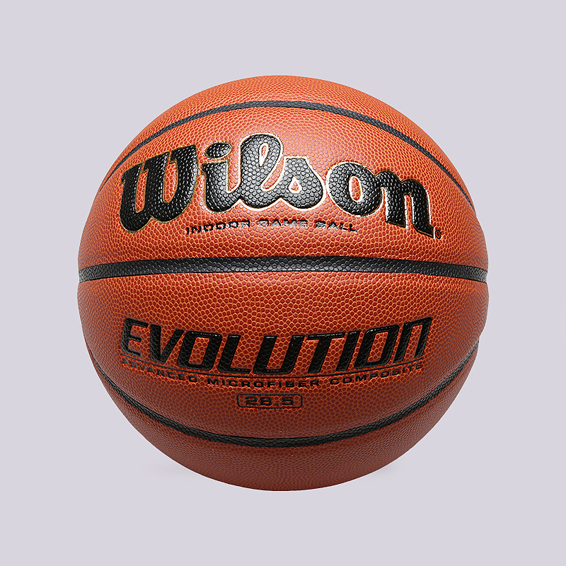 Мяч №6 Wilson EvolutionМячи<br>Резина<br><br>Цвет: Оранжевый<br>Размеры : 6