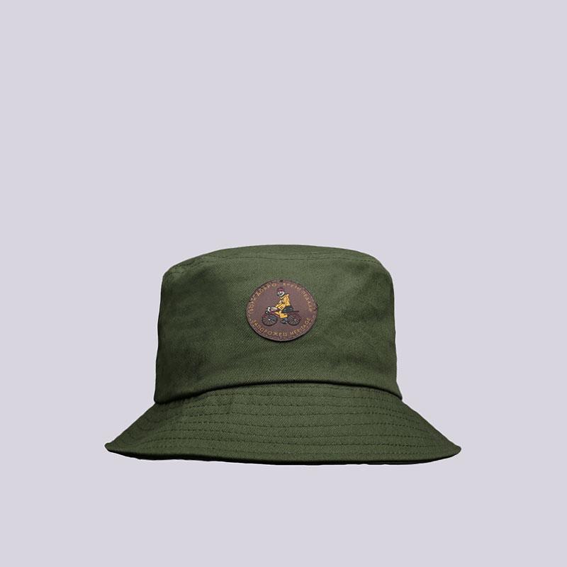 Панама Запорожец heritage DobroКепки<br>Хлопок<br><br>Цвет: Зелёный<br>Размеры : S/M;L/XL