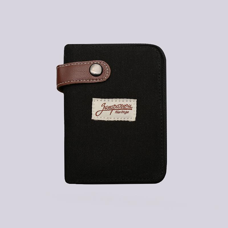 Кошелёк Запорожец heritage Zip WalletДругое<br>Хлопок<br><br>Цвет: Черный<br>Размеры : OS