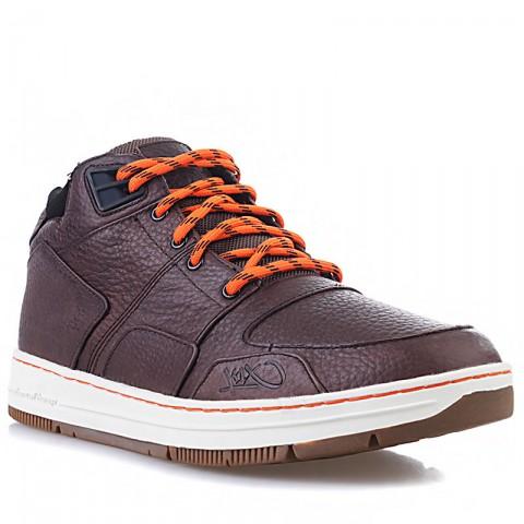 Купить мужские коричневые, белые, оранжевые  ботинки k1x allxs sport le в магазинах Streetball - изображение 1 картинки