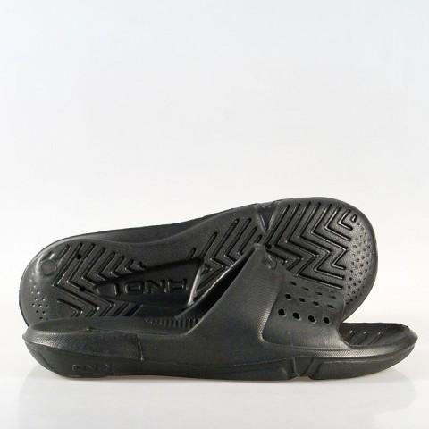 мужские черные  сланцы slide d604mb - цена, описание, фото 1