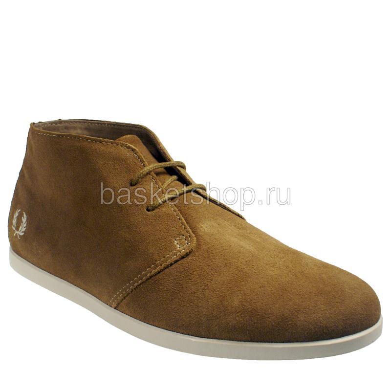 БотинкиБотинки<br>замша, текстиль, резина<br><br>Цвет: коричневый, белый<br>Размеры UK: 10.5<br>Пол: Мужской
