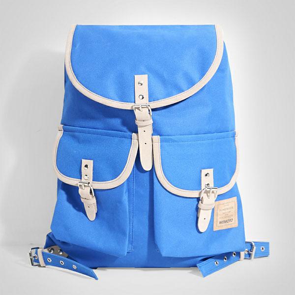 синий  рюкзак homemade backpack b901-blue - цена, описание, фото 1
