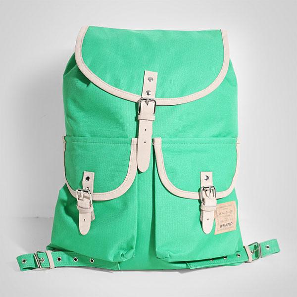 зеленый  рюкзак homemade backpack b901-green - цена, описание, фото 1