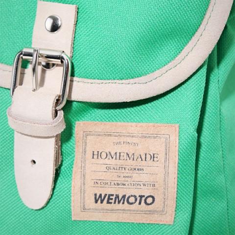зеленый  рюкзак homemade backpack b901-green - цена, описание, фото 4