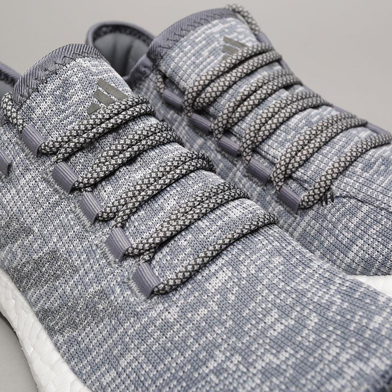 мужские серые  кроссовки adidas pureboost ba8900 - цена, описание, фото 5
