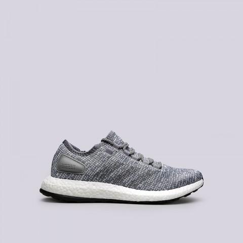 мужские серые  кроссовки adidas pureboost ba8900 - цена, описание, фото 1