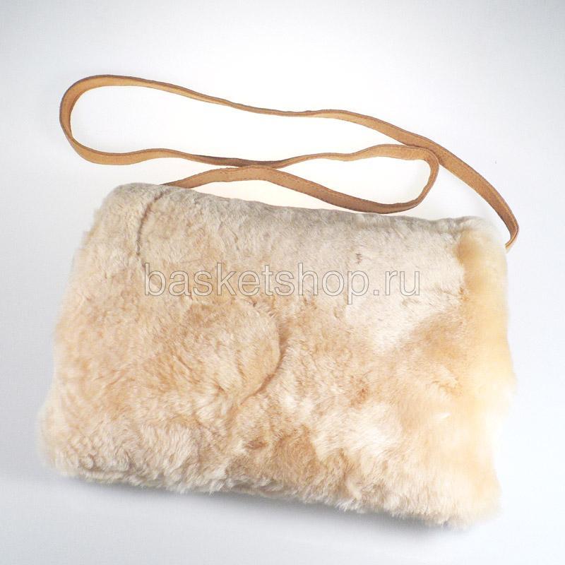 песочную  муфта-сумка 7940-chestnut - цена, описание, фото 1
