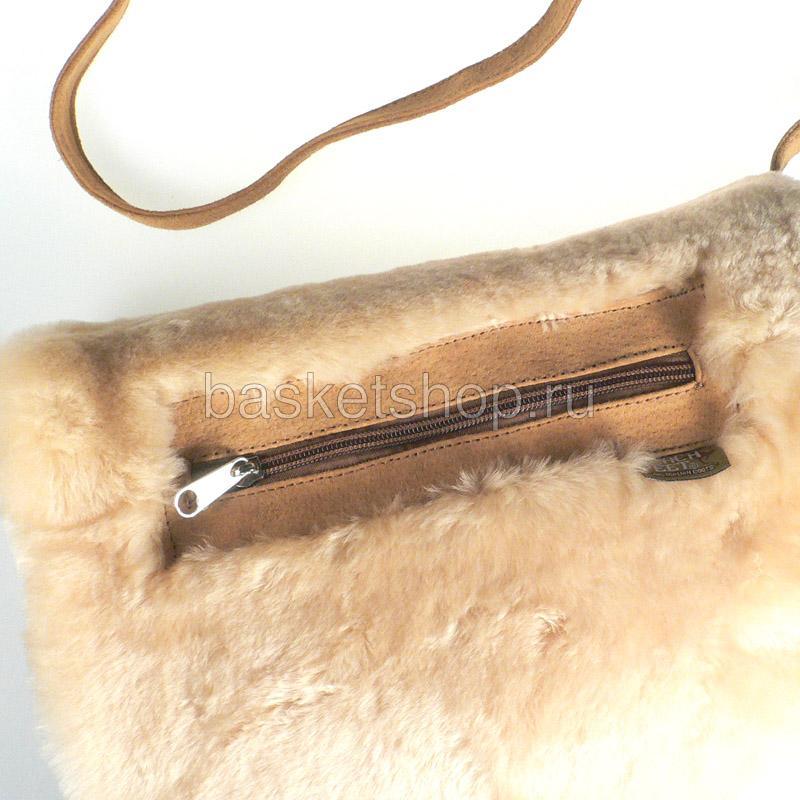 песочную  муфта-сумка 7940-chestnut - цена, описание, фото 2