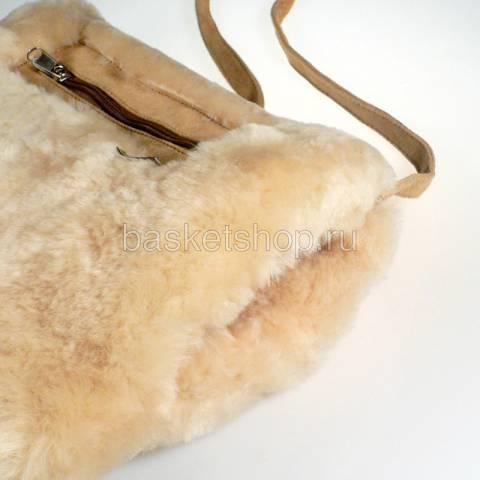 песочную  муфта-сумка 7940-chestnut - цена, описание, фото 3