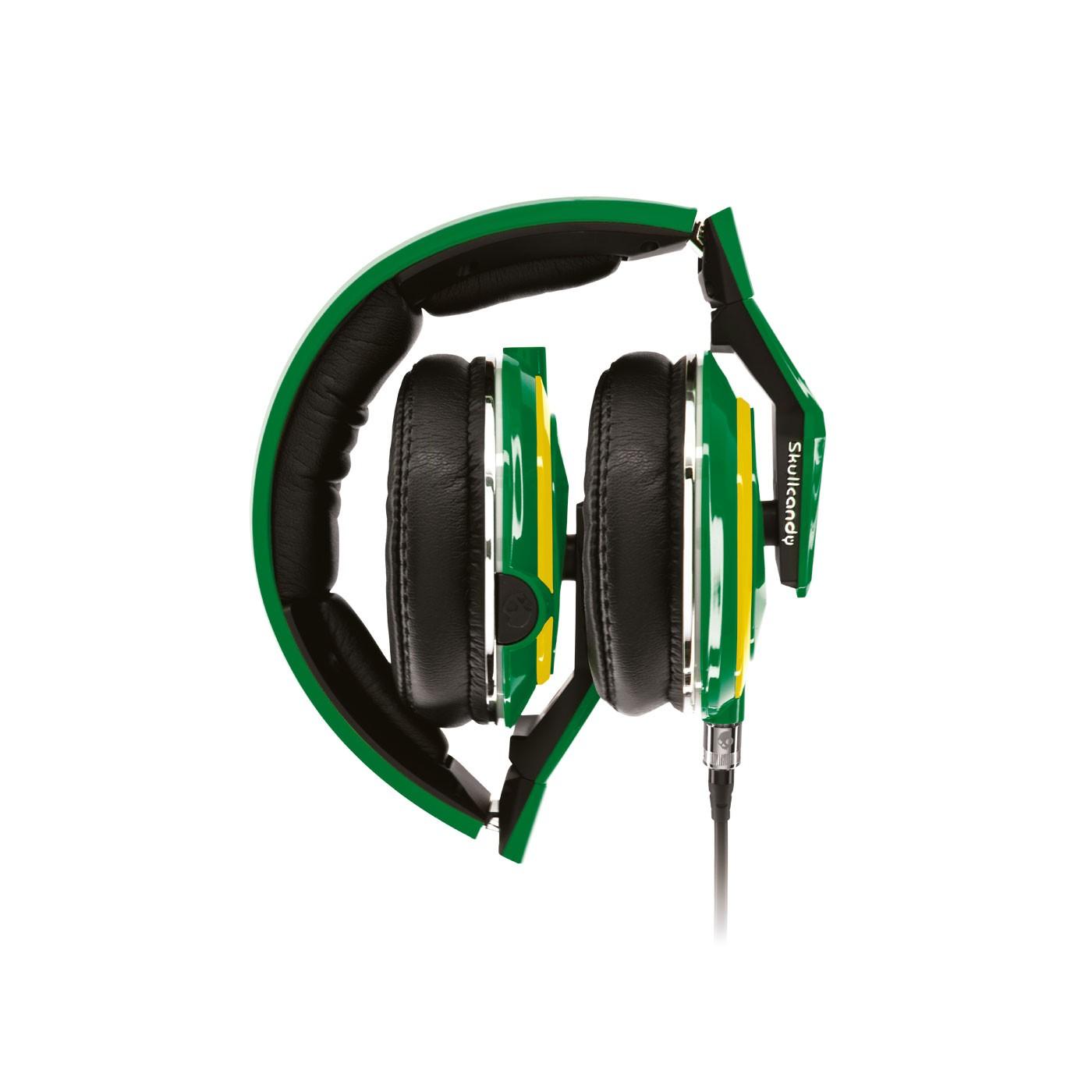Купить зеленые  наушники mix master в магазинах Streetball изображение - 3 картинки