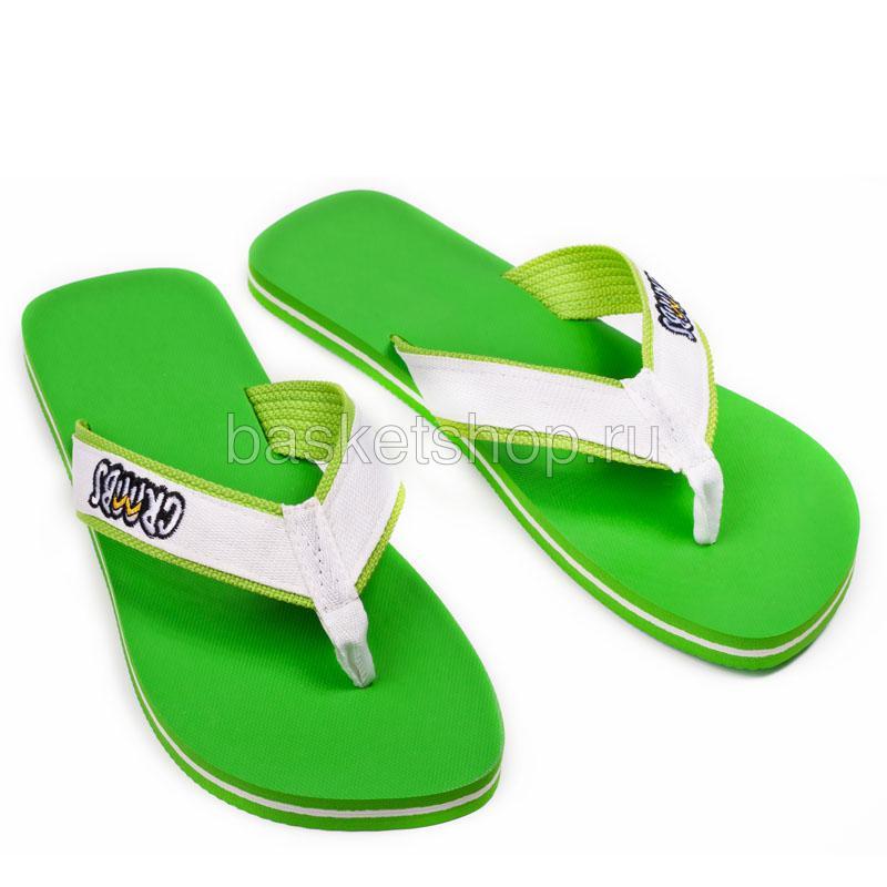 зеленые  сланцы green-white 206/R-06 - цена, описание, фото 1