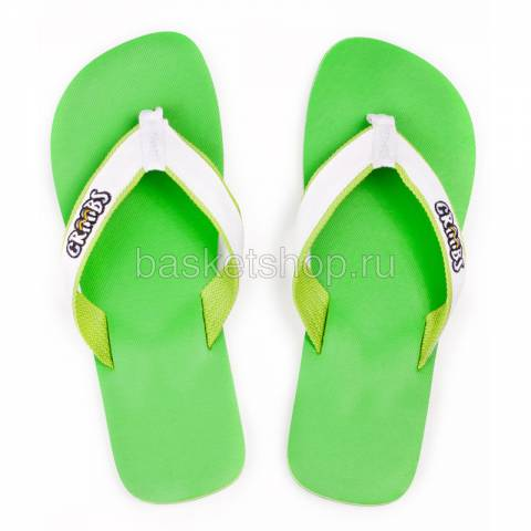 зеленые  сланцы green-white 206/R-06 - цена, описание, фото 2