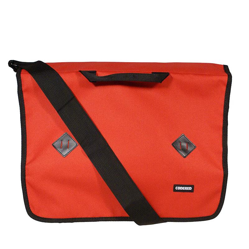 Сумка MessageСумки, рюкзаки<br>полиэстер<br>размеры: 42*35*14 см<br><br>Цвет: красный, черный<br>Размеры US: 1SIZE<br>Пол: Мужской