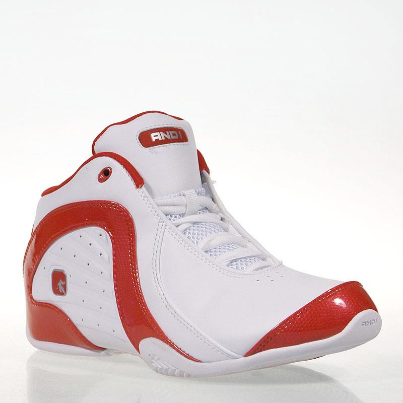 f9b5af92 мужские белые, красные кроссовки rocket 2.0 mid d1018mwwr - цена, описание,  фото 1