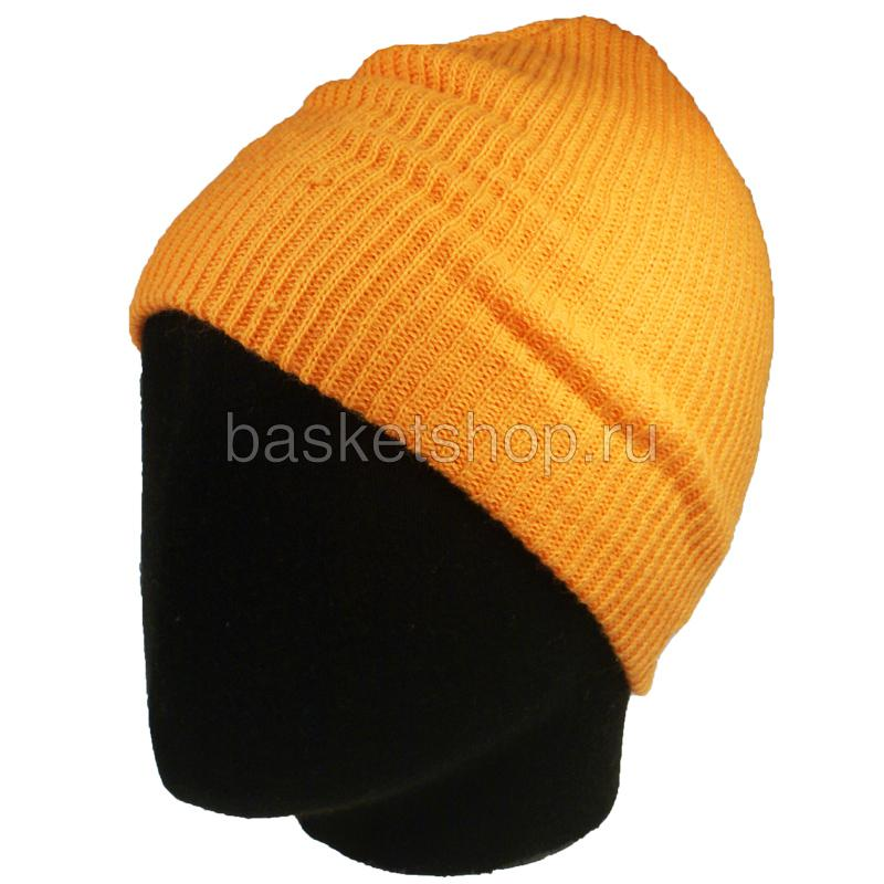 Шапка dailyШапки<br>акрил<br><br>Цвет: оранжевый<br>Размеры US: 1SIZE