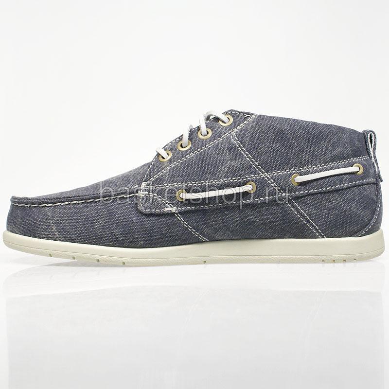 мужские синие  ботинки hampton textile ehamj1-6021 - цена, описание, фото 2