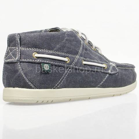 мужские синие  ботинки hampton textile ehamj1-6021 - цена, описание, фото 3