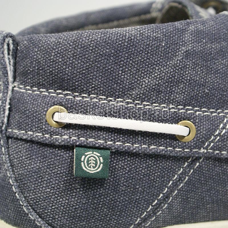мужские синие  ботинки hampton textile ehamj1-6021 - цена, описание, фото 5