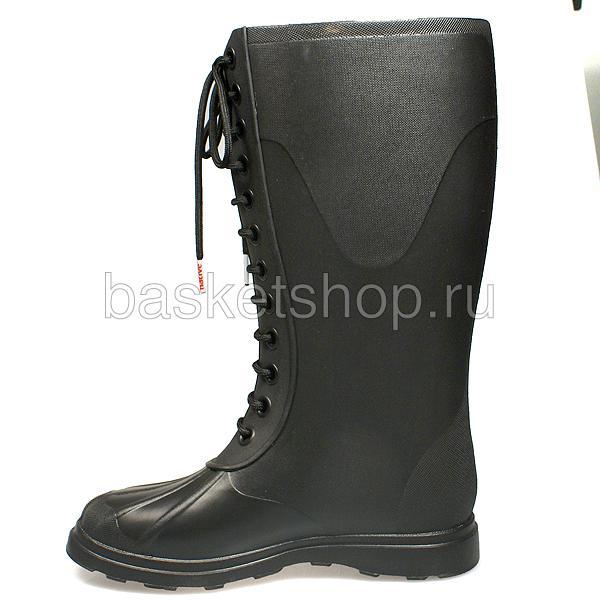 женские черные  сапоги GLM07-JB - цена, описание, фото 2