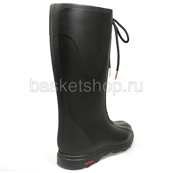 женские черные  сапоги GLM07-JB - цена, описание, фото 3