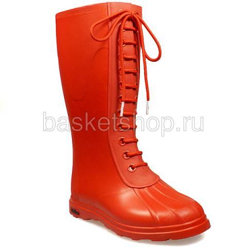 Купить женские красные  сапоги в магазинах Streetball - изображение 1 картинки
