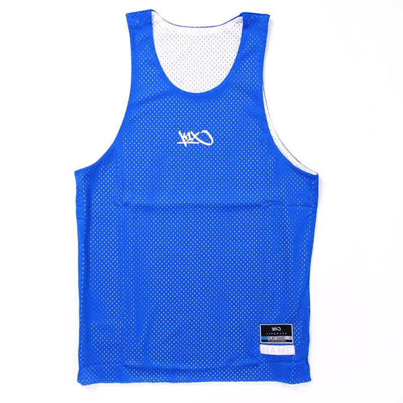 Майка Hardwood rev practice jerseyБезрукавки<br>100% полиэстер<br><br>Цвет: синий<br>Размеры US: 3XL<br>Пол: Мужской
