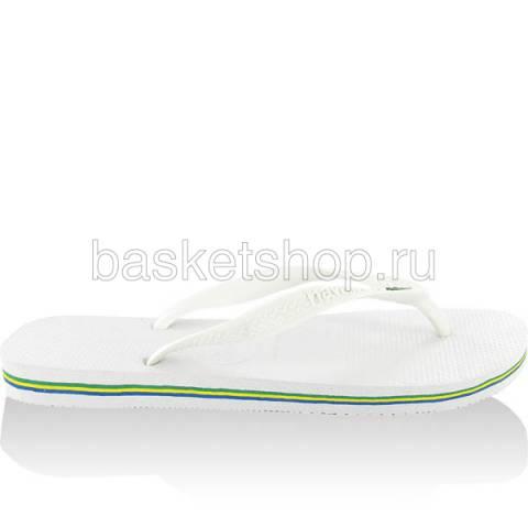 белые  сланцы brasil 4000032-0001 - цена, описание, фото 1