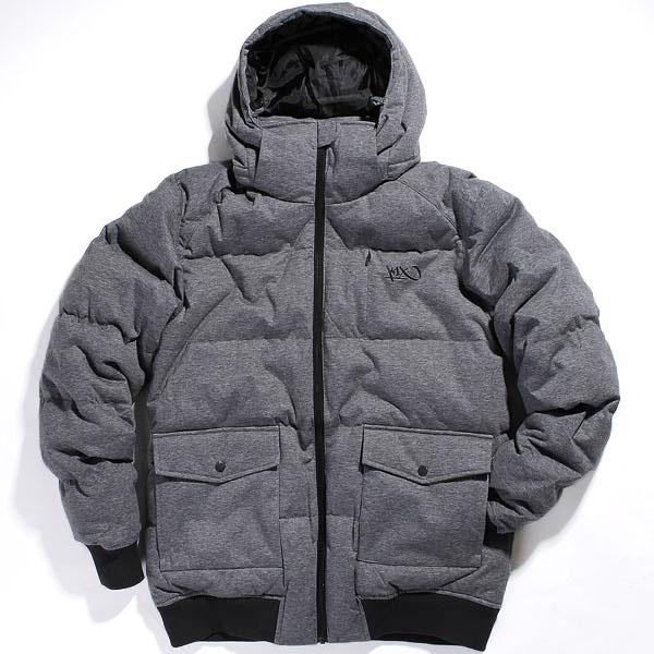 Пуховик K1X 1st Pick Down Lux JacketКуртки, пуховики<br>65% хлопок, 35% полиэстер<br>наполнение: 50% пух, 50% перо<br><br>Цвет: серый<br>Размеры US: 2XL<br>Пол: Мужской