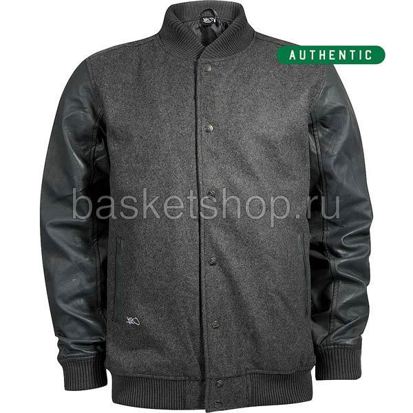 Authentic baseball jacketКуртки, пуховики<br><br><br>Цвет: серый<br>Размеры US: XL<br>Пол: Мужской