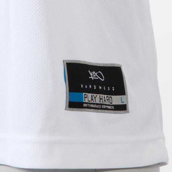 белую  майку hardwood double x jersey 7200-0008/1816 - цена, описание, фото 3