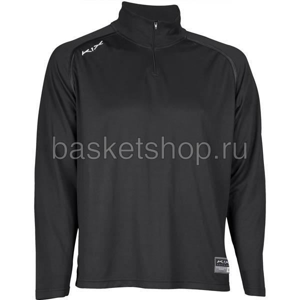 Купить мужской черный  hardwood intimidator longsleeve shooting shirt в магазинах Streetball изображение - 1 картинки