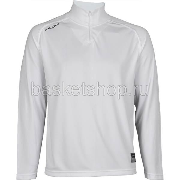 Купить мужской белый  hardwood intimidator longsleeve shooting shirt в магазинах Streetball изображение - 1 картинки