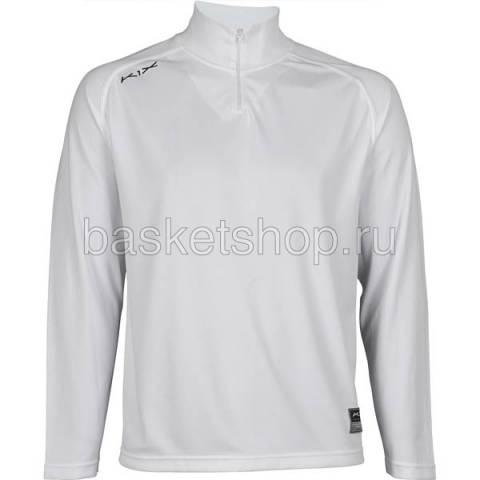 Купить мужской белый  hardwood intimidator longsleeve shooting shirt в магазинах Streetball - изображение 1 картинки
