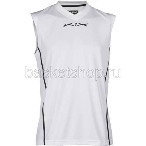 мужскую белую  майку hardwood league uniform jersey 7200-0003/1000 - цена, описание, фото 2