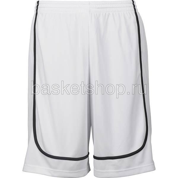мужской белый, черный  hardwood league uniform shorts 7400-0003/1000 - цена, описание, фото 1