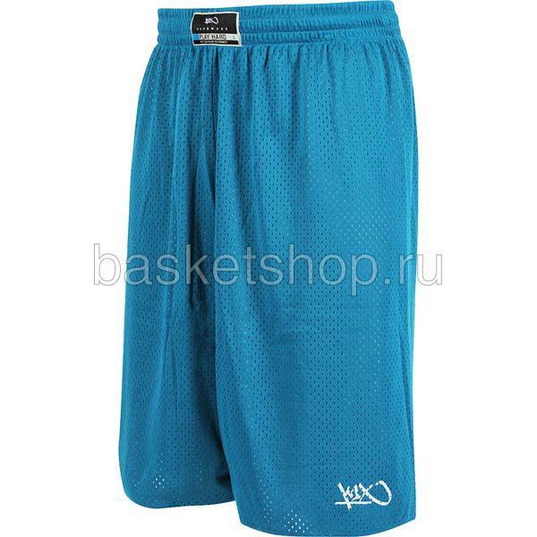 Шорты hardwood rev practice shortsШорты<br>100% полиэстер<br><br>Цвет: синий<br>Размеры US: 2XL;3XL