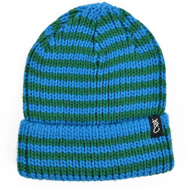 Шапка Stripe beanieШапки<br>100% акрил<br><br>Цвет: синий<br>Размеры US: 1SIZE