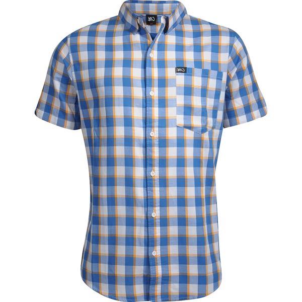 Рубашка NY check short sleeve shirt