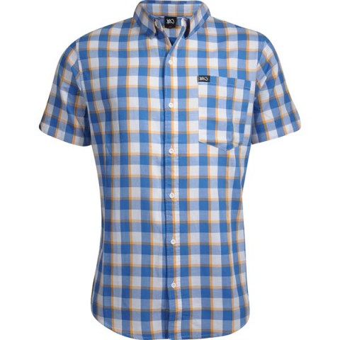 Рубашка NY check short sleeve shirt K1X