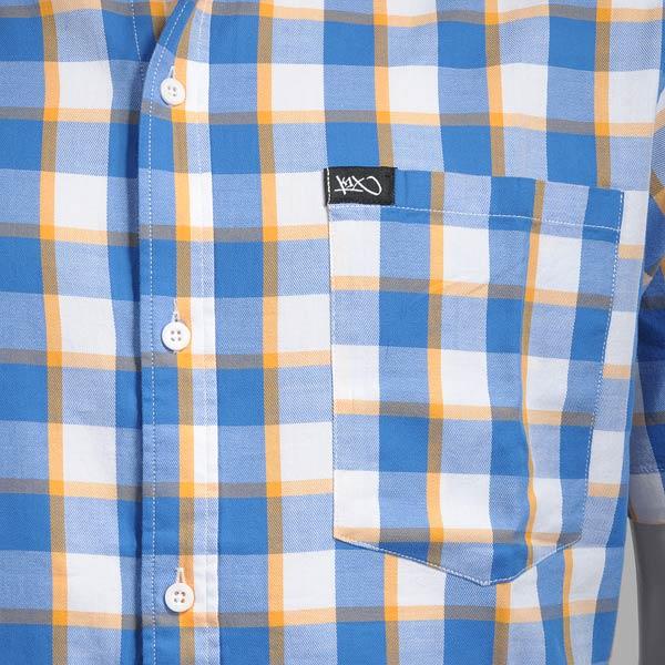 Рубашка NY check short sleeve shirt от Streetball