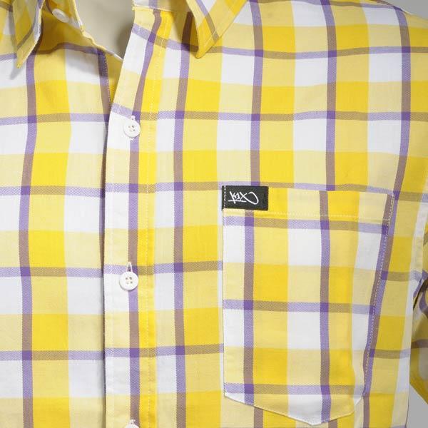 Рубашка LA check short sleeve shirt от Streetball